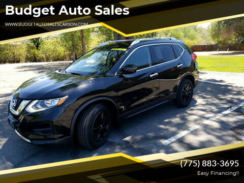 2017 Nissan Rogue for sale at Budget Auto Sales in Carson City NV