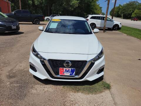 2019 Nissan Altima for sale at MENDEZ AUTO SALES in Tyler TX