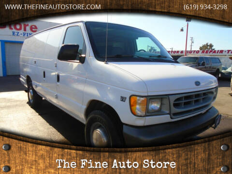 1999 Ford E-350 for sale at The Fine Auto Store in Imperial Beach CA
