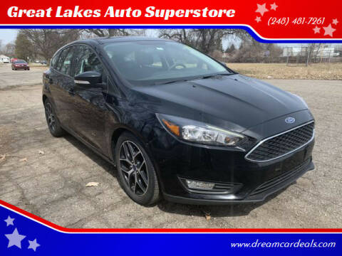 2017 Ford Focus for sale at Great Lakes Auto Superstore in Pontiac MI
