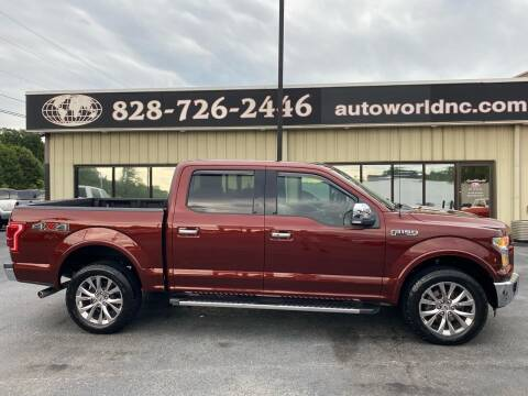 2015 Ford F-150 for sale at AutoWorld of Lenoir in Lenoir NC