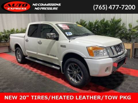 2012 Nissan Titan for sale at Auto Express in Lafayette IN