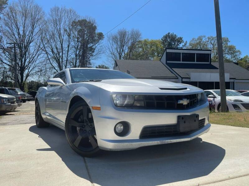 2010 Chevrolet Camaro for sale at Alpha Car Land LLC in Snellville GA