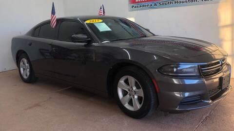 2015 Dodge Charger for sale at Antonio's Auto Sales - Antonio`s  3001 in Pasadena TX