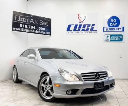 2006 Mercedes-Benz CLS for sale at Elegant Auto Sales in Rancho Cordova CA