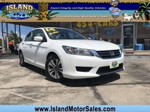 2014 Honda Accord for sale at Island Motor Sales Inc. in Merritt Island FL