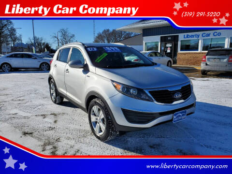 2012 Kia Sportage for sale at Liberty Car Company in Waterloo IA
