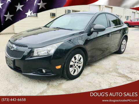 2012 Chevrolet Cruze for sale at Doug's Auto Sales in Columbia MO