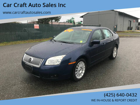 2006 Mercury Milan for sale at Car Craft Auto Sales Inc in Lynnwood WA