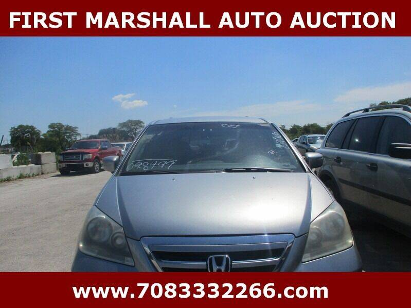 2006 Honda Odyssey for sale at First Marshall Auto Auction in Harvey IL
