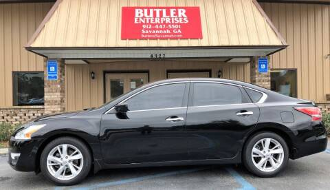 2014 Nissan Altima for sale at Butler Enterprises in Savannah GA
