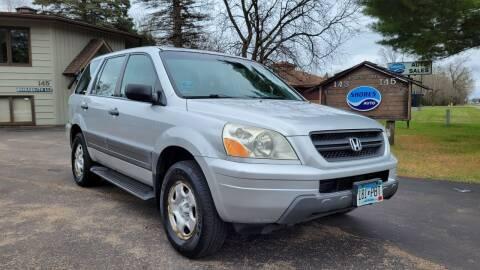 2005 Honda Pilot for sale at Shores Auto in Lakeland Shores MN