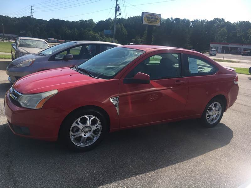 2008 Ford Focus for sale at O'Quinns Auto Sales, Inc in Fuquay Varina NC