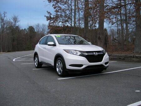 2016 Honda HR-V for sale at RICH AUTOMOTIVE Inc in High Point NC
