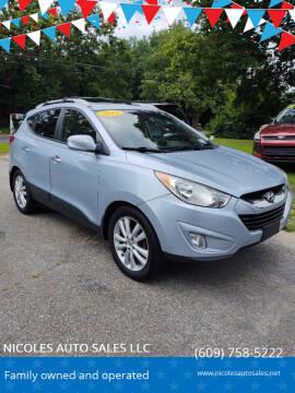 2013 Hyundai Tucson for sale at NICOLES AUTO SALES LLC in Cream Ridge NJ