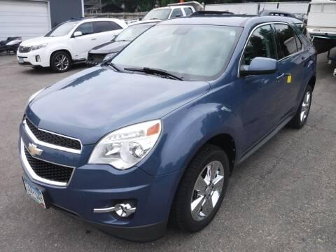 2012 Chevrolet Equinox for sale at J & K Auto - J and K in Saint Bonifacius MN