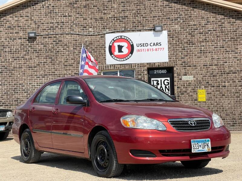 2007 Toyota Corolla for sale at Big Man Motors in Farmington MN