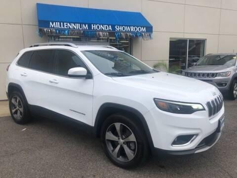 2019 Jeep Cherokee for sale at MILLENNIUM HONDA in Hempstead NY