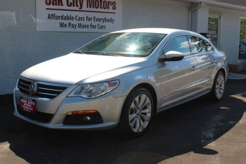 2012 Volkswagen CC for sale at Oak City Motors in Garner NC