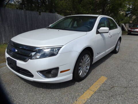 2012 Ford Fusion Hybrid for sale at Wayland Automotive in Wayland MA