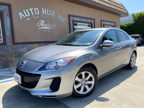 2012 Mazda MAZDA3 for sale at Auto Hub, Inc. in Anaheim CA