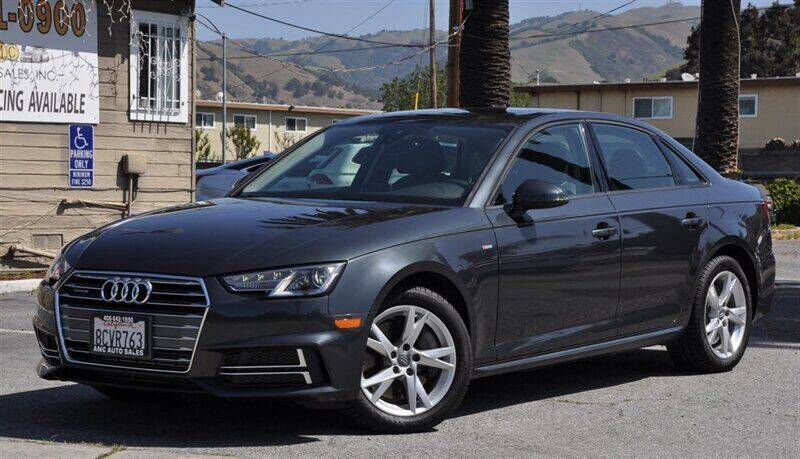 2018 Audi A4 for sale at AMC Auto Sales, Inc. in Fremont CA