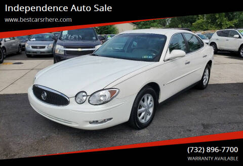 2006 Buick LaCrosse for sale at Independence Auto Sale in Bordentown NJ