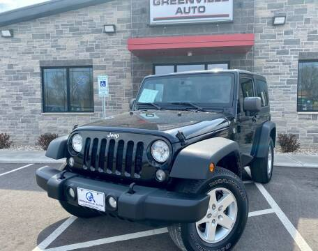 2015 Jeep Wrangler for sale at GREENVILLE AUTO in Greenville WI