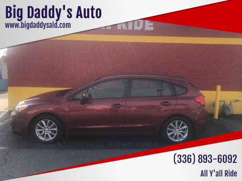 2014 Subaru Impreza for sale at Big Daddy's Auto in Winston-Salem NC