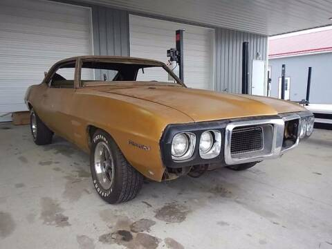 1969 Pontiac Firebird for sale at Custom Rods and Muscle in Celina OH