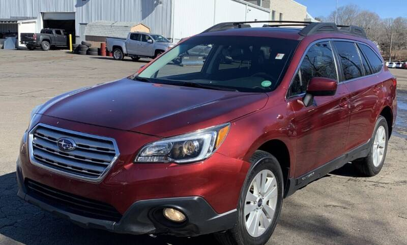2015 Subaru Outback for sale at Father & Sons Auto Sales in Leeds NY