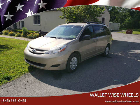 2007 Toyota Sienna for sale at Wallet Wise Wheels in Montgomery NY