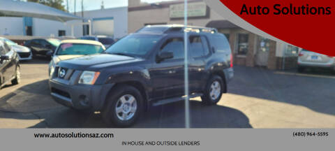 2008 Nissan Xterra for sale at Auto Solutions in Mesa AZ