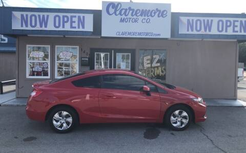 2013 Honda Civic for sale at Claremore Motor Company in Claremore OK