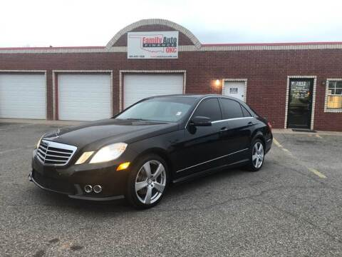2010 Mercedes-Benz E-Class for sale at Family Auto Finance OKC LLC in Oklahoma City OK