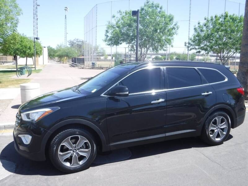2013 Hyundai Santa Fe for sale at J & E Auto Sales in Phoenix AZ