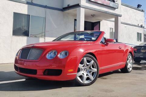2008 Bentley Continental for sale at Fastrack Auto Inc in Rosemead CA