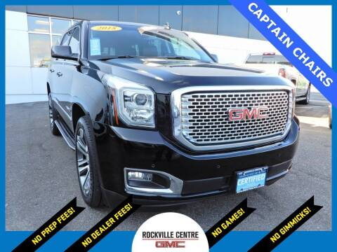 2017 GMC Yukon for sale at Rockville Centre GMC in Rockville Centre NY