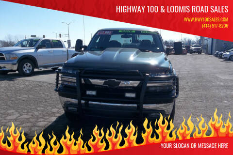 2001 Chevrolet Silverado 2500HD for sale at Highway 100 & Loomis Road Sales in Franklin WI
