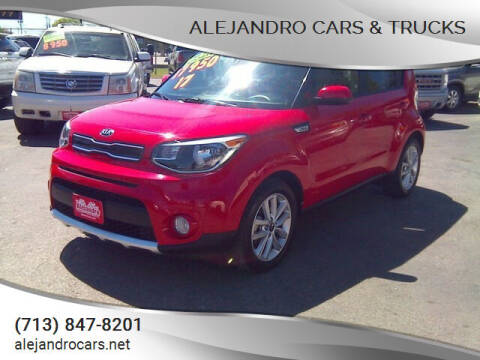 2017 Kia Soul for sale at Alejandro Cars & Trucks in Houston TX