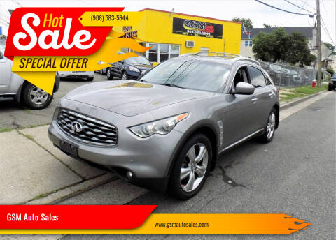2009 Infiniti FX35 for sale at GSM Auto Sales in Linden NJ