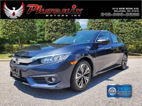 2018 Honda Civic for sale at Phoenix Motors Inc in Raleigh NC