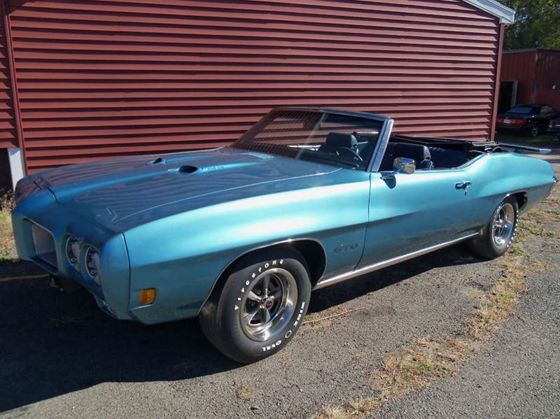 1970 Pontiac GTO for sale at Red Barn Motors, Inc. in Ludlow MA
