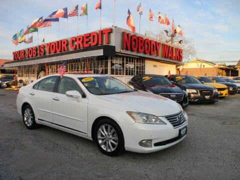 2011 Lexus ES 350 for sale at Giant Auto Mart 2 in Houston TX