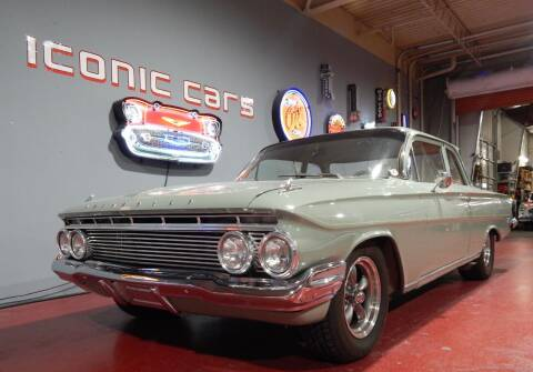 1961 Chevrolet Biscayne for sale at Iconic Motors of Oklahoma City, LLC in Oklahoma City OK
