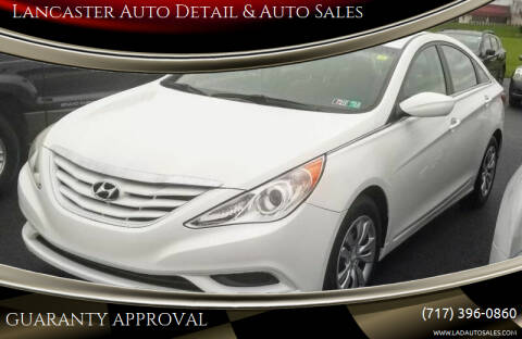 2012 Hyundai Sonata for sale at Lancaster Auto Detail & Auto Sales in Lancaster PA