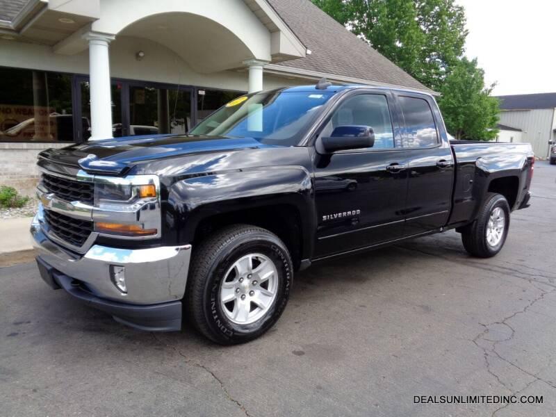 2016 Chevrolet Silverado 1500 for sale at DEALS UNLIMITED INC in Portage MI