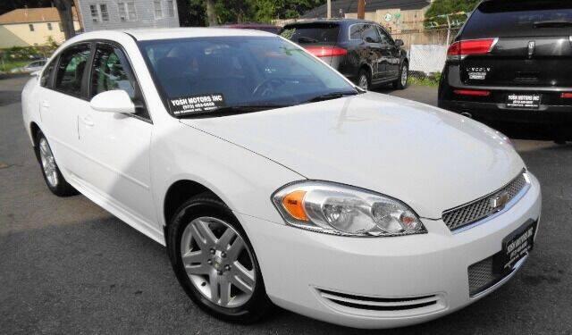2012 Chevrolet Impala for sale at Yosh Motors in Newark NJ