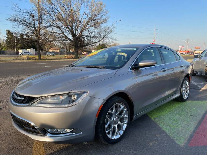 2015 Chrysler 200 for sale at 1st Choice Auto L.L.C in Oklahoma City OK