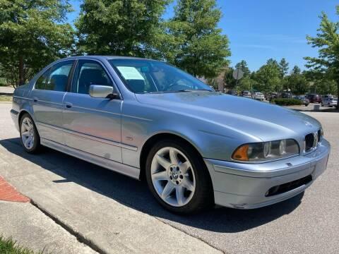 2002 BMW 5 Series for sale at LA 12 Motors in Durham NC